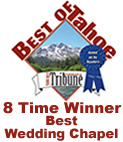 Best of Tahoe Winner: Best Wedding Chapel